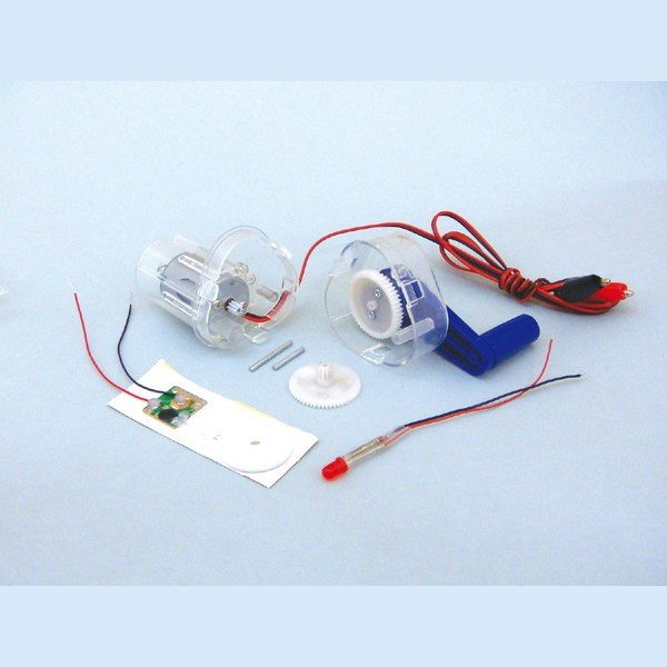 ARTEC アーテック 理科教材・備品 電気・電子・電池・電流・電熱・エネルギー・発電 Bマルチ発電機組立キット 商品番号 8649 お取り寄せ