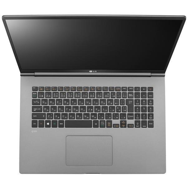 LG gram 17Z990-VA76J メモリ倍増特価 ノートパソコン 17インチ ダークシルバー Core i7 SSD 512GB メモリ 16GB Office追加可 カスタマイズ可能 予約商品|applied-net|09