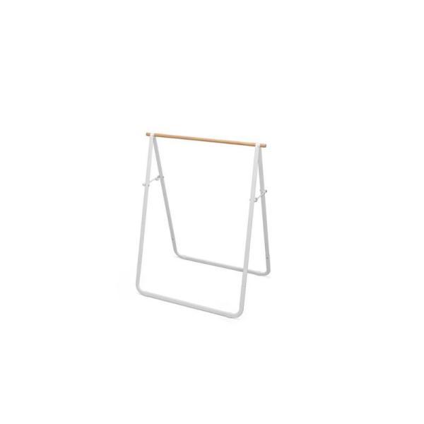 アイリスオーヤマ 物干しラック 商品サイズ(cm):幅約76.5×奥行約50.5×高さ約97.5 ナチュラル物干し NRMH-770B