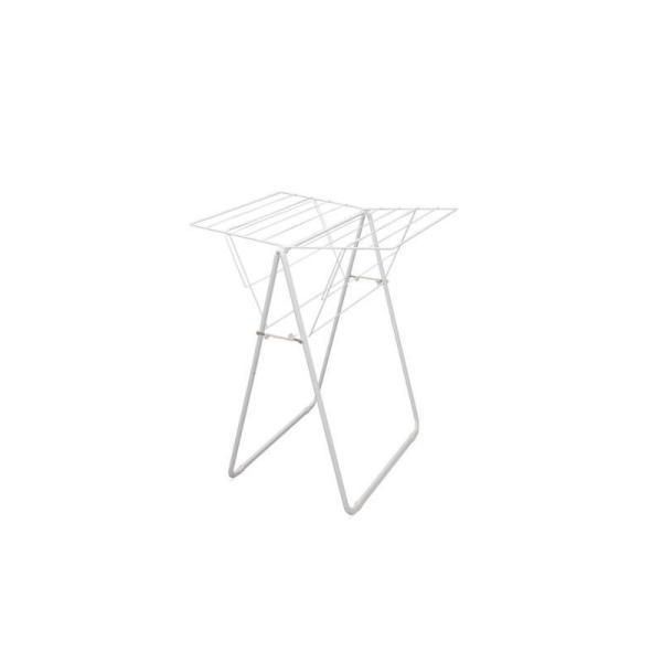 アイリスオーヤマ 物干しラック 商品サイズ(cm):幅約73.0×奥行約80.5×高さ約100.5 ナチュラル物干し NRMH-800F
