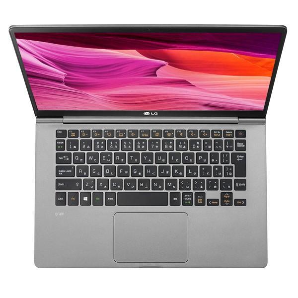 LG gram 14Z990-VA76J ノートパソコン 14インチ ダークシルバー Core i7-8565U SSD 512GB メモリ 8GB Win10Home64bit 新品 通常モデル applied-net 09