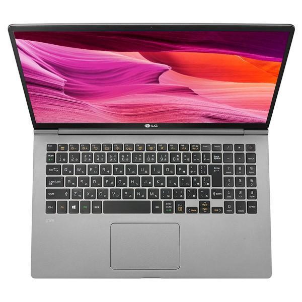 LG gram 15Z990-GA56J ノートパソコン 15.6インチ ダークシルバー Core i5-8265U SSD 256GB メモリ 8GB Win10Home64bit 新品 通常モデル applied-net 09