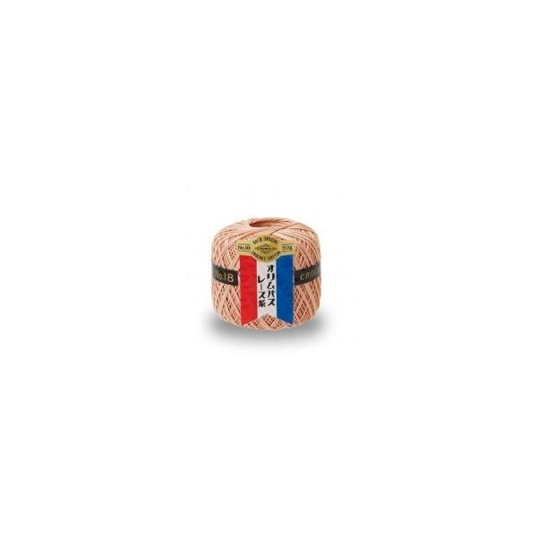 オリムパス レース糸 金票18番(単色)50g玉巻 3玉入|appupc1