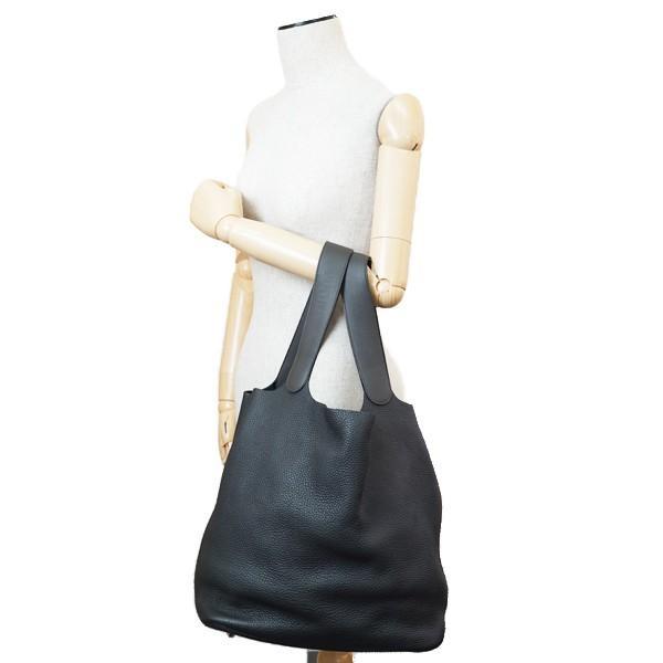 【A/美品】HERMES エルメス ピコタンロックタッチ31 ハンドバッグ □R刻印(2014年製造) グラファイト/ブロン   鑑定書付 20177162