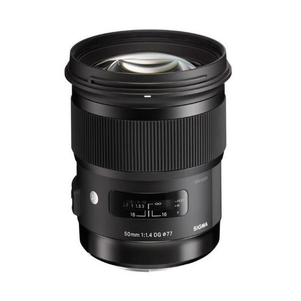 SIGMA 50mm F1.4 DG HSM ニコン用 大口径標準レンズ