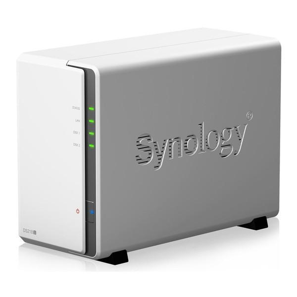 Synology DS218j DiskStation 2ベイオールインワンNASキット|aprice