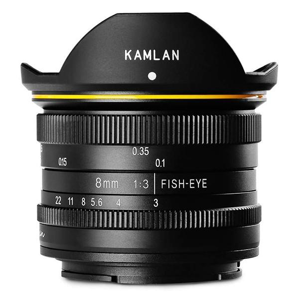 KAMLAN 8mm F3.0 (SonyE) フィッシュアイ 超広角単焦点MFレンズ(ソニーE)