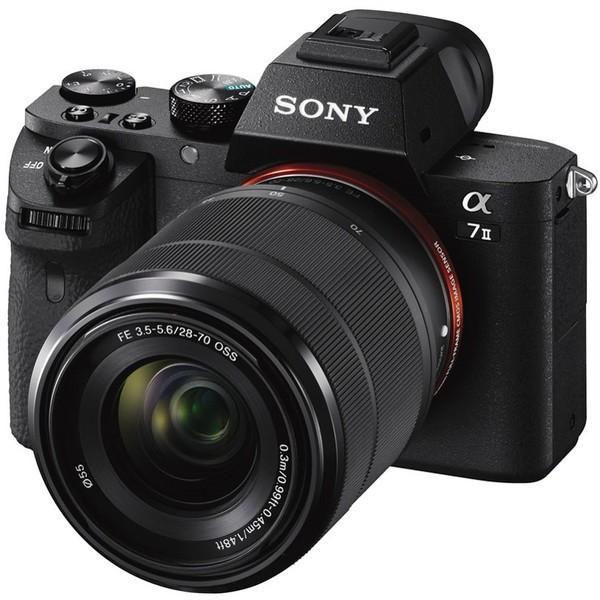 SONY ILCE-7M2K ズームレンズキット α7II [デジタル一眼カメラ (FE 28-70mm F3.5-5.6 OSS」 レンズキット 35mmフルサイズ)]