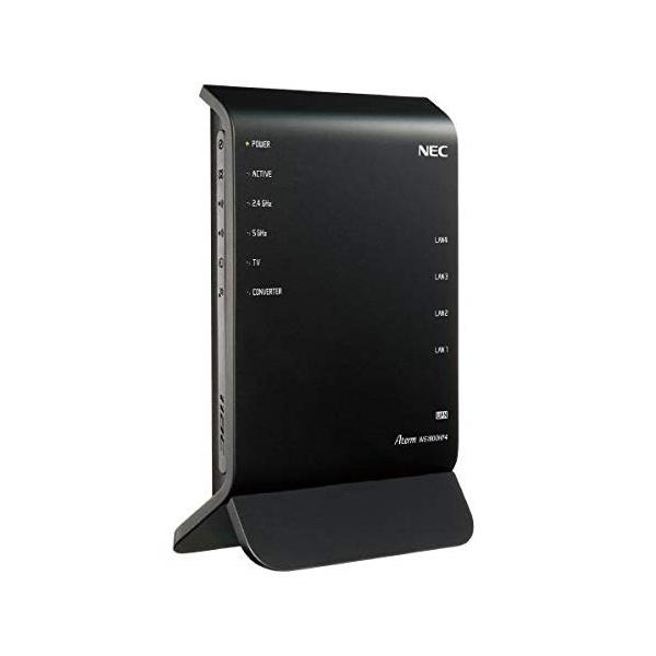 NEC PA-WG1800HP4 Aterm 無線LANルーター 親機単体(IEEE802.11a/b/g/n/ac 1300+450 Mbps)|aprice
