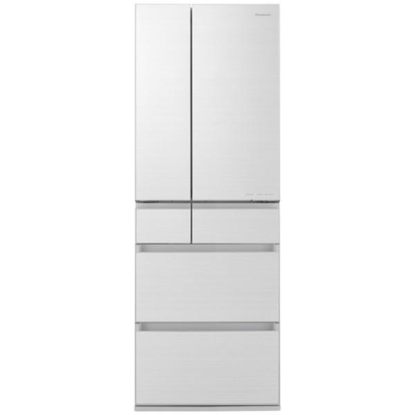 パナソニック冷蔵庫(500L・フレンチドア・幅65cm)NR-F506HPX-Wアルベロホワイト木目調デザイン大容量大型家族省エ