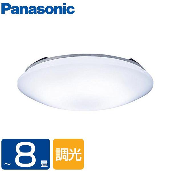シーリングライト 8畳 パナソニック PANASONIC LED LHR1883D 洋風LEDシーリングライト 調光 昼光色 リモコン付き サークルタイプ