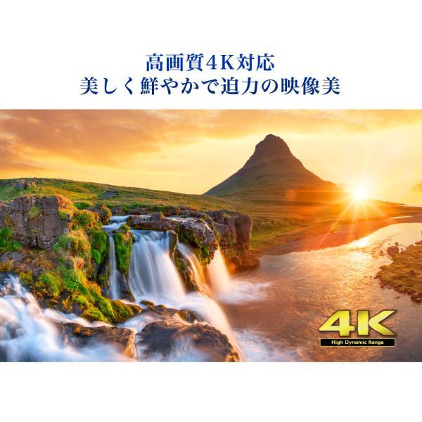 テレビ TV 50型 50インチ 4K対応 HDR対応 1, 000日保証 地デジ・BS・CS 外付けHDD録画 液晶テレビ maxzen JU50SK04|aprice|06