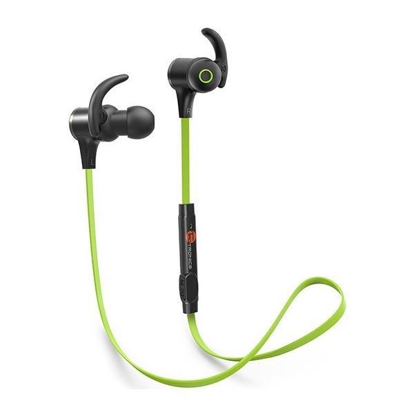タオトロニクス TT-BH07 グリーン Bluetoothイヤホン|aprice