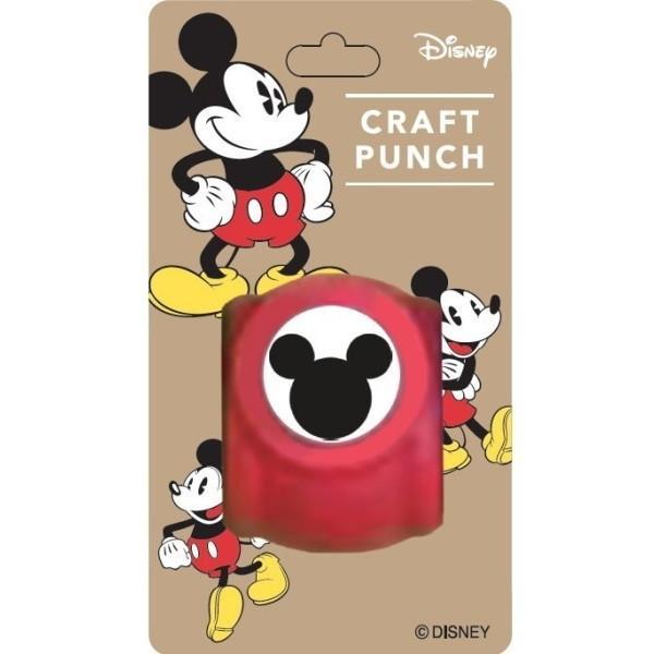 カール事務器 Paper Intelligence Disney ディズニー クラフトパンチ ミッキーS 4109630