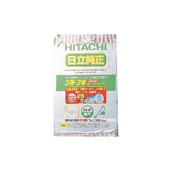 日立 GP-M100F 掃除機用抗菌防臭3種・3層 HEパックフィルター (5枚入り)