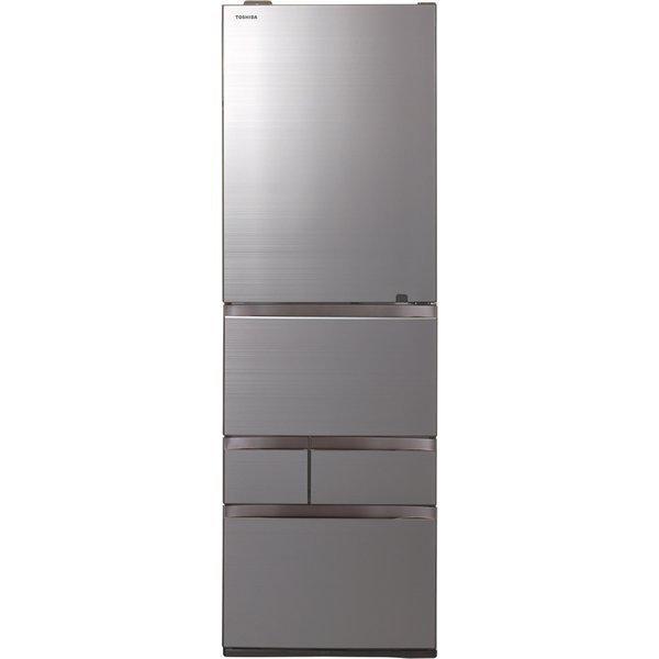 東芝GR-T500GZ(ZH)アッシュグレージュVEGETA冷蔵庫(501L・右開き)