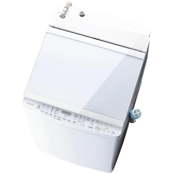 TOSHIBA(東芝)『タテ型洗濯乾燥機 ZABOON(AW-9SV9)』