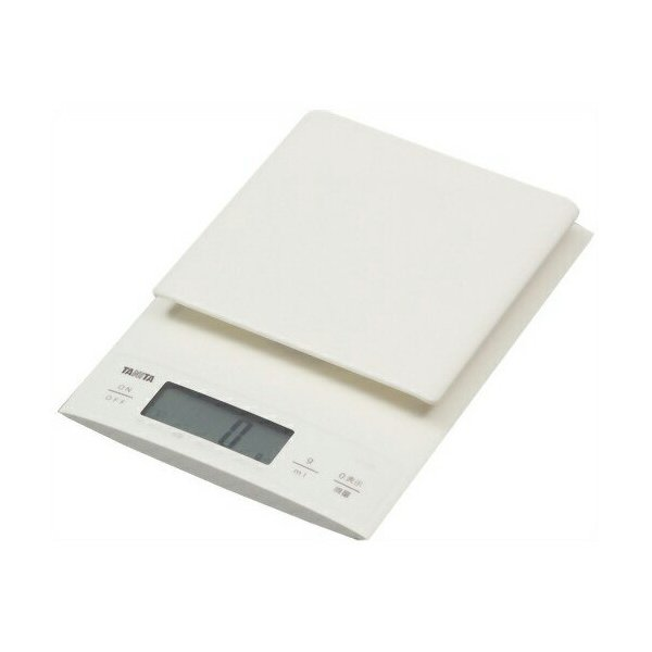 はかり タニタ(TANITA) KD-320-WH ホワイト デジタルクッキングスケール  キッチンスケール|aprice