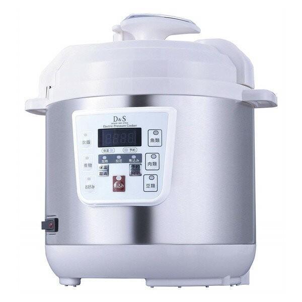 佐藤商事 電気圧力鍋 電気 調理 蓋 家電 調理家電 鍋 調理器具STL-EC30 D&S [電気圧力鍋(2.5L)]|aprice