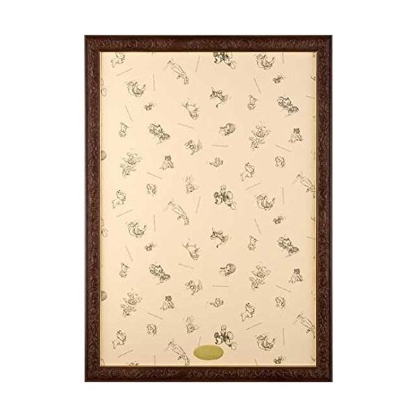 テンヨー パズルフレーム ディズニー専用 アートフィギュアパネル 1000ピース用 ブラウン(51x73.5cm)
