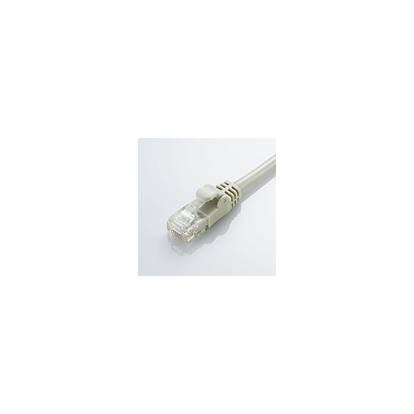 ライトグレー 2m Cat5E準拠 配線スッキリ 取り回しがしやすいやわらかLANケーブル(Cat5E準拠) LD-CTY/LG2|aprice