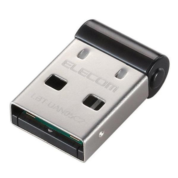 ELECOM LBT-UAN05C2 ブラック Bluetoothアダプタ/Ver4.0/Class2|aprice