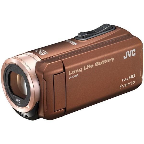 JVC (ビクター/VICTOR) ビデオカメラ 小型 ハイビジョンメモリームービー Everio フルハイビジョン  内蔵メモリー 32GB ブラウン GZ-F100-T|aprice|02