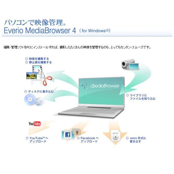 JVC (ビクター/VICTOR) ビデオカメラ 32GB 大容量バッテリー 小型 ハイビジョンメモリームービー Everio フルハイビジョン ブラウン GZ-F100-T|aprice|18