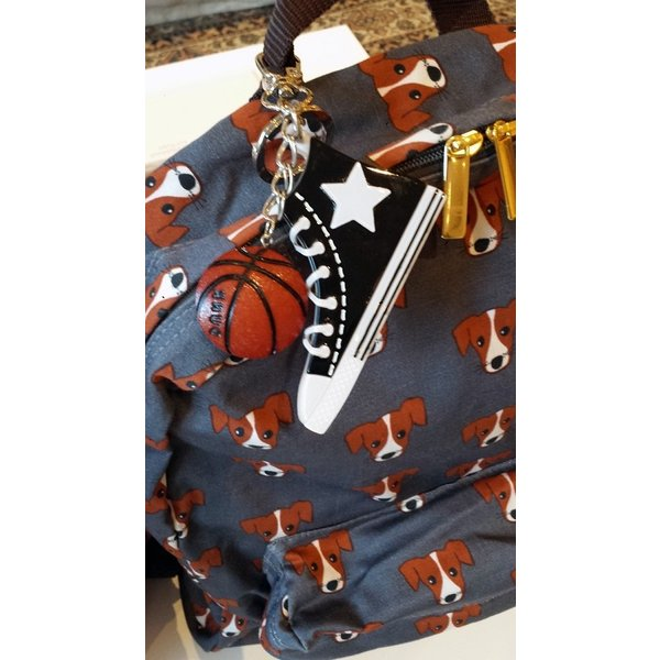 63127518c2e71 ... キッズ アクセサリー Adelaide New York バスケットボール キーホルダー 男の子 女の子 アクリル スワロフスキー ギフト  プレゼント 野球|apricos