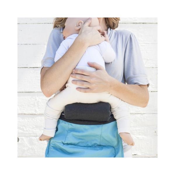 アメリカで大人気のふたご用抱っこひも日本初上陸!TwinGo 専用 インファントインサート 双子用 ベビーキャリア 新生児用 インサート|apricos|02