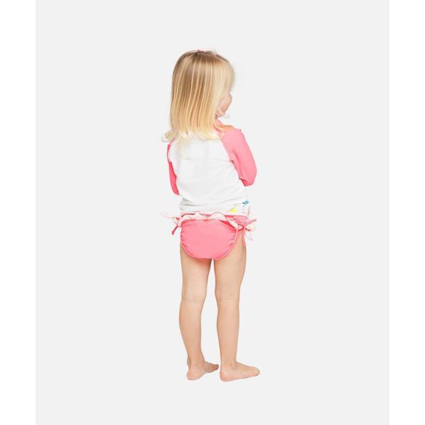 ベビー インポート 水着 Elly La Fripouille プリンセス ラッシュガード&パンツ水着セット 子供水着 ベビースイミング Baby Kids セパレート apricos 04