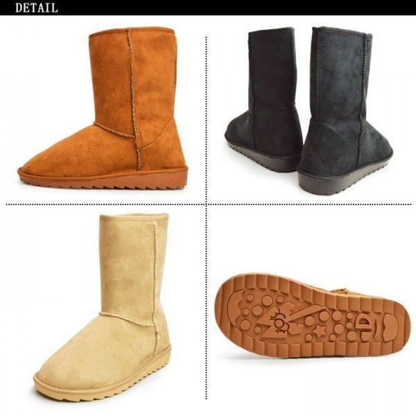 靴 メンズ ブーツ ムートンブーツ メンズブーツ 防寒ブーツ メンズ ワークブーツ スノーブーツ ロング 2018 冬|apricot-town|06