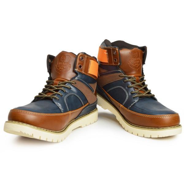 ブーツ メンズ スノーブーツ 靴 メンズ ワークブーツ スニーカー 防水 防寒ブーツ スノーシューズ レインシューズ レインブーツ 2017 冬|apricot-town|03