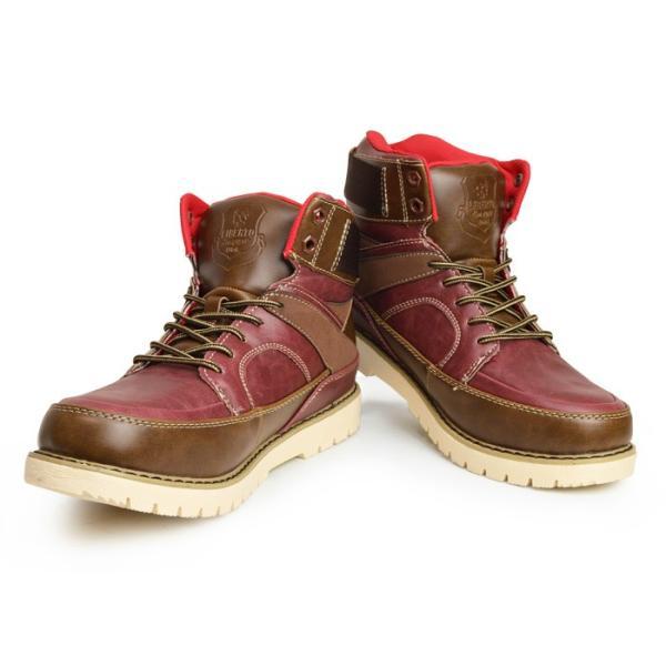 ブーツ メンズ スノーブーツ 靴 メンズ ワークブーツ スニーカー 防水 防寒ブーツ スノーシューズ レインシューズ レインブーツ 2017 冬|apricot-town|05