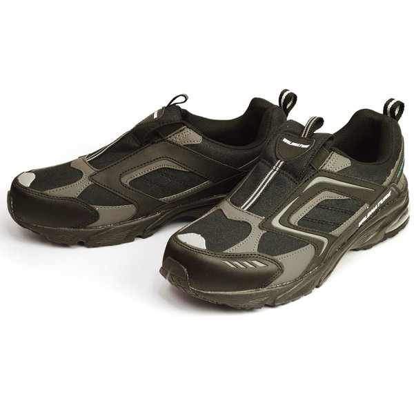 WILD NATURE 防水 スニーカー メンズ 靴 軽量 レインシューズ シューズ 雨靴 メッシュ 通気性 カジュアルシューズ 作業用 ローカット スリッポン 紐靴|apricot-town|04
