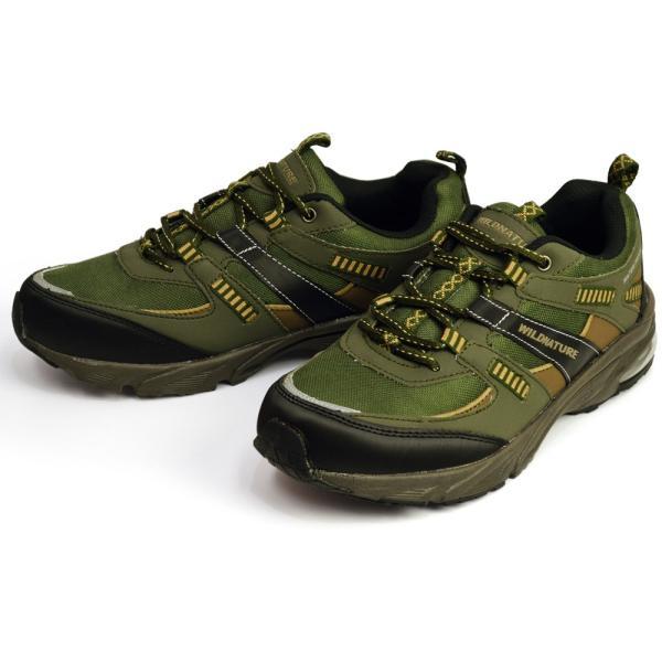 WILD NATURE 防水 スニーカー メンズ 靴 軽量 レインシューズ シューズ 雨靴 メッシュ 通気性 カジュアルシューズ 作業用 ローカット スリッポン 紐靴|apricot-town|06