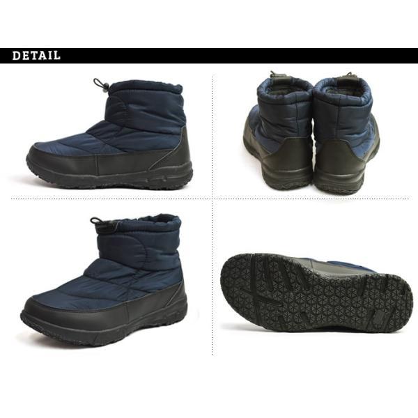 ブーツ メンズ 靴 メンズブーツ 防寒 防水 シューズ ショートブーツ ダウン ブーツ 防滑 豊天 ブーテン ハイカット カジュアルシューズ スノーブーツ 2018 冬|apricot-town|06
