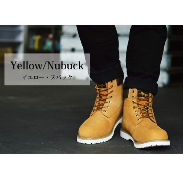 ブーツ メンズ 本革 イエローブーツ 革靴 マウンテンブーツ メンズブーツ ロングブーツ ワークブーツ トレッキング 靴 メンズシューズ ハイカット カジュアル|apricot-town|11