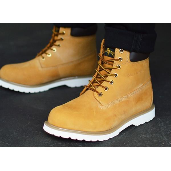 ブーツ メンズ 本革 イエローブーツ 革靴 マウンテンブーツ メンズブーツ ロングブーツ ワークブーツ トレッキング 靴 メンズシューズ ハイカット カジュアル|apricot-town|12