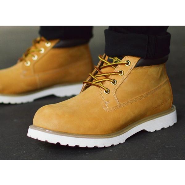 ブーツ メンズブーツ 本革 イエローブーツ 革靴 マウンテンブーツ ショートブーツ ワークブーツ トレッキング ブーツ メンズシューズ ショートブーツ カジュアル apricot-town 12