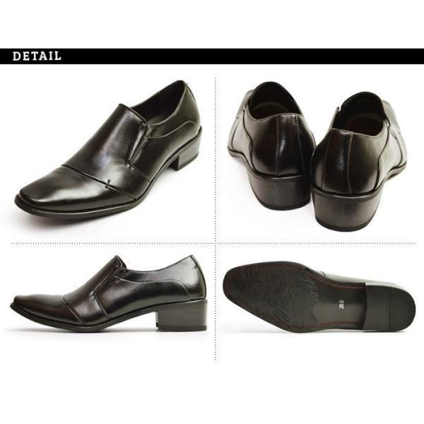 ビジネスシューズ 2足セット ビジネス メンズ スリッポン ストレートチップ ウイングチップ スクエアトゥ モンクストラップ 革靴 脚長 紳士靴 靴 選べる福袋|apricot-town|12