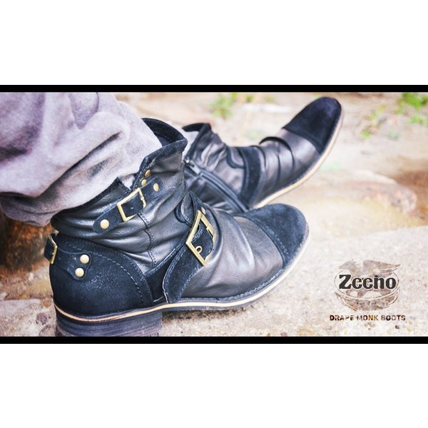 エンジニアブーツ メンズ ブーツ ショートブーツ ワークブーツ ドレープブーツ ライダース バイカーズブーツ ヴィンテージ 靴 メンズシューズ 2020 冬|apricot-town|18