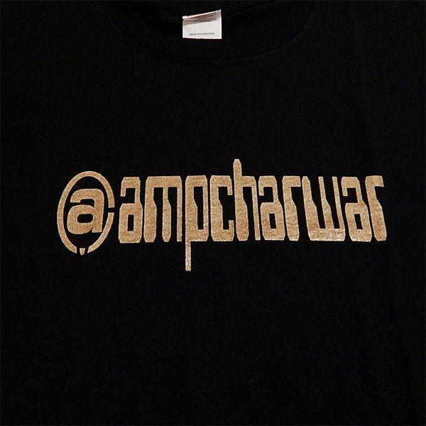 ampcharwar(アンプチャーワー):Tシャツ/ブラック×ゴールド/メンズ【ファッション バンド Tシャツ】|aprilfoolstore|03