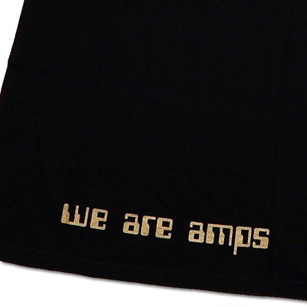 ampcharwar(アンプチャーワー):Tシャツ/ブラック×ゴールド/メンズ【ファッション バンド Tシャツ】|aprilfoolstore|04