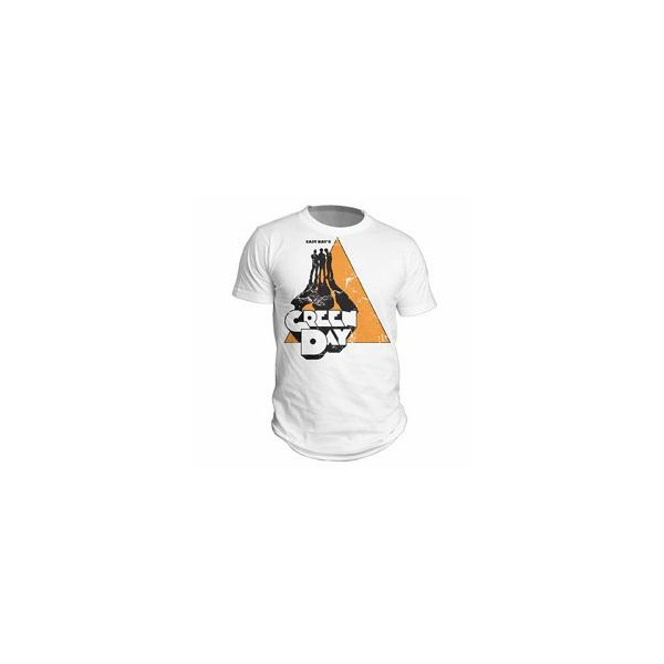 GREEN DAY(グリーン・デイ):ULTRA VIOLENT/ホワイト/メンズS【ファッション バンド Tシャツ】|aprilfoolstore
