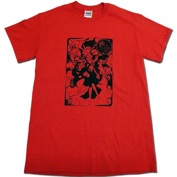 艶街:Tシャツ/レッド/メンズ【ファッション バンド Tシャツ】|aprilfoolstore
