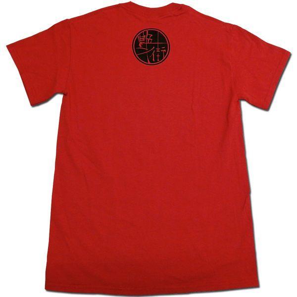 艶街:Tシャツ/レッド/メンズ【ファッション バンド Tシャツ】|aprilfoolstore|02