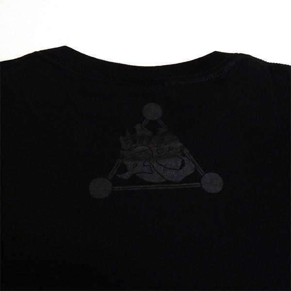 艶街:Tシャツ/ブラック×レッド/メンズ【ファッション バンド Tシャツ】|aprilfoolstore|04