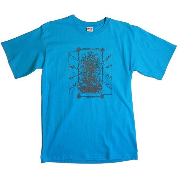 【送料無料】JOKE FACTORY(ジョークファクトリー):合同コント公演「極楽旅行」オリジナルTシャツ/カリビアンブルー/メンズM【ファッション お笑い Tシャツ】 aprilfoolstore