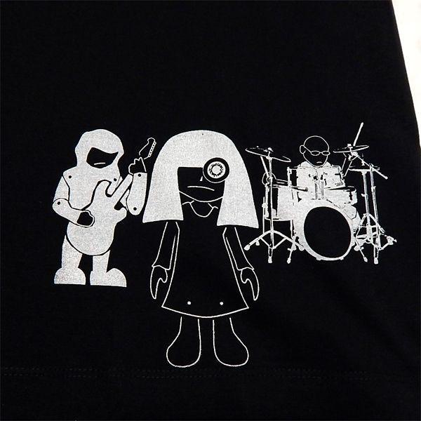 カイモクジショウ:Tシャツ/ブラック/メンズ【ファッション バンド Tシャツ】|aprilfoolstore|03